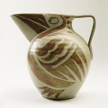 Pelican Jug by Charles and Nell VYSE