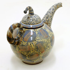 Large Teapot by Morgen Hall c1137