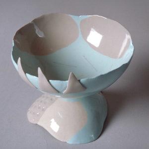 Pebble cup, 1992 Porcelain 9cm high