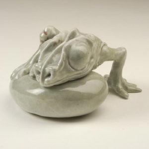 """3. Lizard, 1975 (4.5"""" x 8"""")"""
