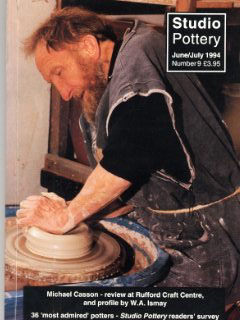 Studio Pottery - Michael Casson
