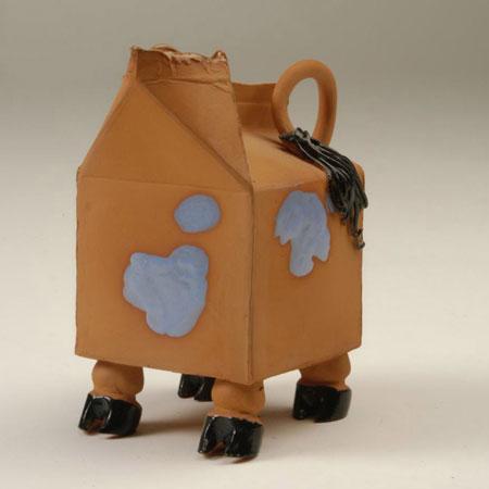 """6. Cow jug, 1995 (5"""" x 4.5"""")"""